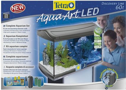 kit acuario completo tetra aquaart led